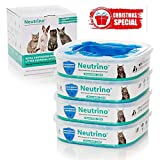 Neutrino 4 Pack Refills Fit Litter Genie Pail Waste Disposal Systems for Cats – 21 Foot Extra Long Capacity with Odor Smell Control Protection – Plus Bonus Pet Potty Training Ebook