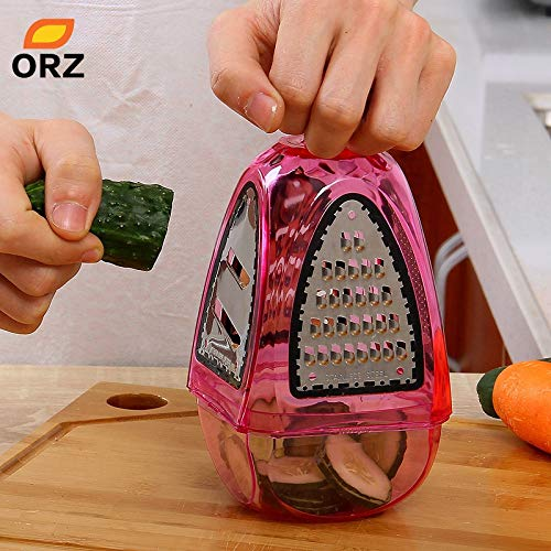Vistaric ORZ Graters Shredders And Slicers Fruit Vegetable Cutter Potato Carrot Device Flat Coarse Fine Ribbon Kitchen Tools