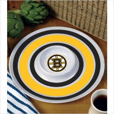 "NHL 14"" Melamine Chip and Dip NHL Team: Boston Bruins"