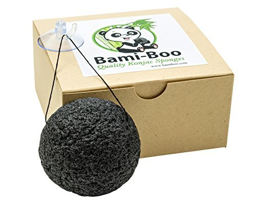 black-konjac-sponge-with-activated-charcoal-facial-cleanser-all-natural-fiber-environmentally-friend