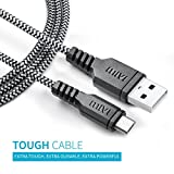 Mivi Tough Micro Usb Cable With Charging Speeds Up To 2.4Amps For Samsung, Lenovo, Lumia, Oneplus, Xiaomi,(Black)