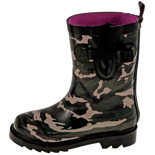 Capelli New York Kinder Gummistiefel Camouflage Black Combo