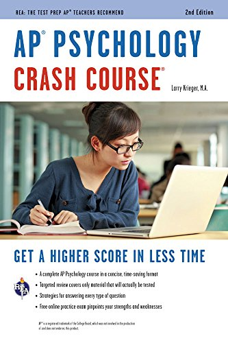 AP® Psychology Crash Course Book + Online (Advanced Placement (AP) Crash Course) cover