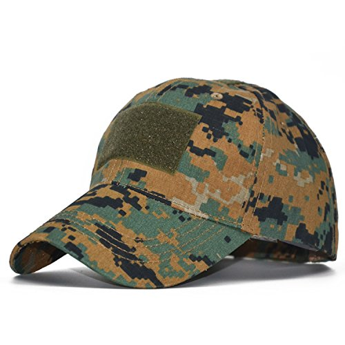 - Jeremy Stone Multicam Digital Camo Special Force Tactical Operator hat Contractor SWAT Baseball Hat Corps Cap MARPAT ACU