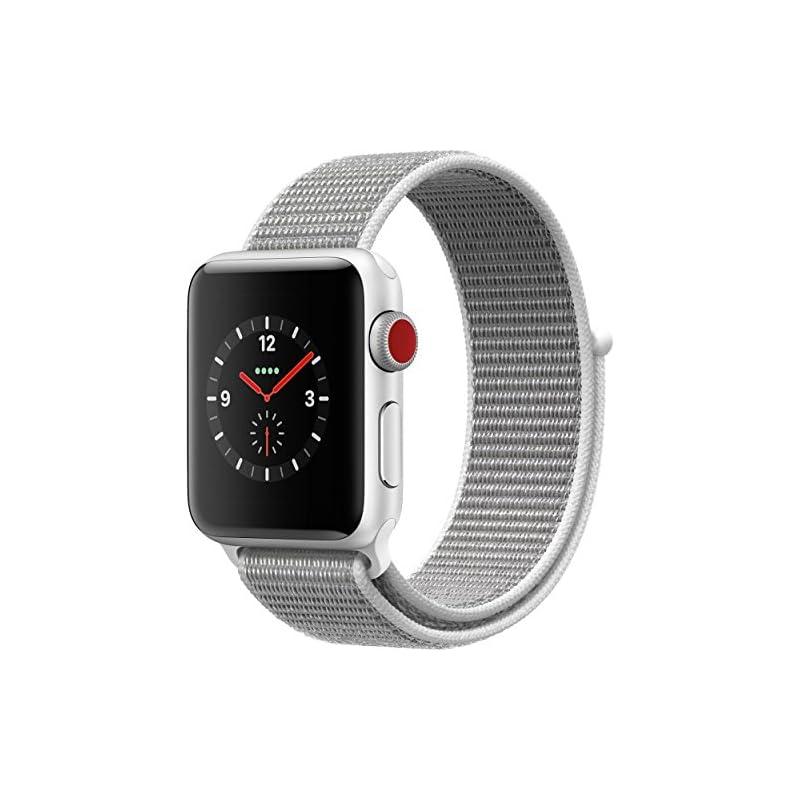 Apple Watch Series 3 38MM Smartwatch (GPS + Cellular 4G LTE) - Silver (Refurbished)