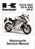 99924-1361-03 2006-2008 Kawasaki Ninja 650R EX650A Motorcycle Service Manual