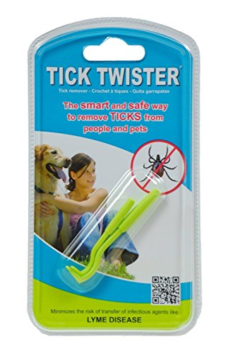 Tick Twister Tick Remover - The Smart and Safe Way to Remove Ticks from People and Pets - 24 Pack