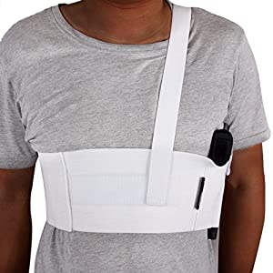 LINIXU Deep Concealment Shoulder Holster White