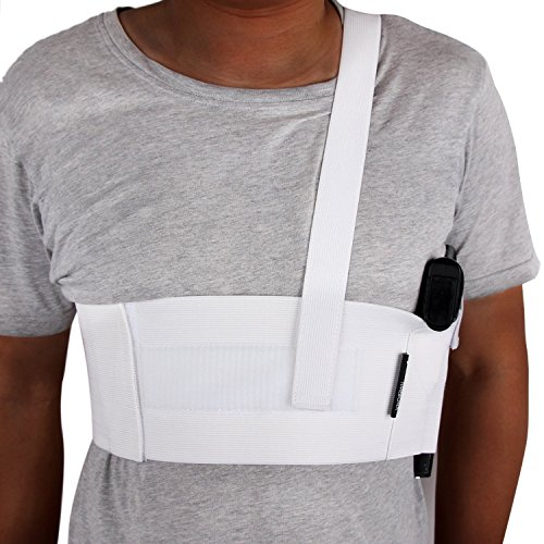 LINIXU Deep Concealment Shoulder Holster White (L(39