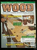 img - for Better Homes & Gardens Wood Magazine August 1995 book / textbook / text book