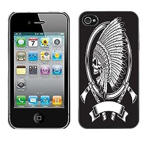 """Dragon Case - FOR iPhone 4 / 4S - """"Early sow - Caja protectora de pl??stico duro de la cubierta Dise?¡Ào Slim Fit"""