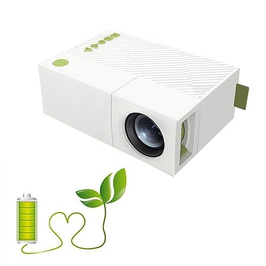 YTDDD Mini proyector, videoproyector portátil, proyector de Cine ...