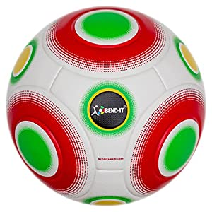 Bend-It Soccer, Knuckle-It Pro White, Soccer Ball, OMB With VPM And VRC Technology