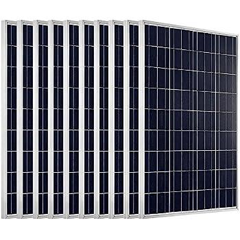 Amazon Com 1 Kw Solar System 10pcs 100w Pv Solar Panel