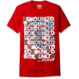 Ecko UNLTD Men's Scrambled Scrabble Tee Shirt, Red, X-Large