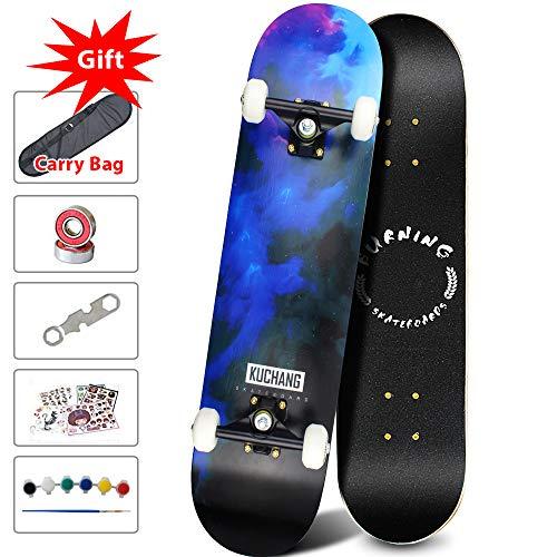Phoeros Complete Skateboards -Standard Skateboards for Beginners Starter - 31