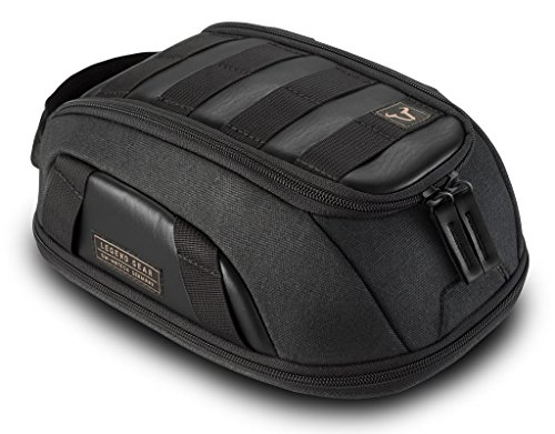 SW-MOTECH Legend Gear MOLLE Style LT1 Magnetic Or Strap Mount Tank Bag | 3-5.5L - Black Edition
