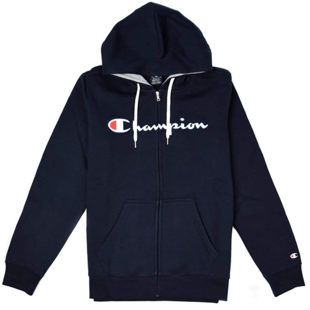 Azur XL Champion Hommes Zip sweat à capuche encapuchonné Full Zip Sweatshirt 212065