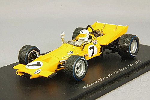 1/43 McLaren M7A No.7 4th Dutch GP 1969 Denny Hulme(イエロー) S3119