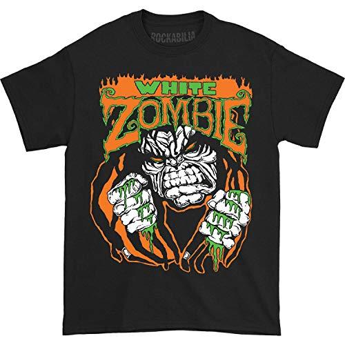 White Zombie Men's Monster Lugosi T-shirt Medium Black