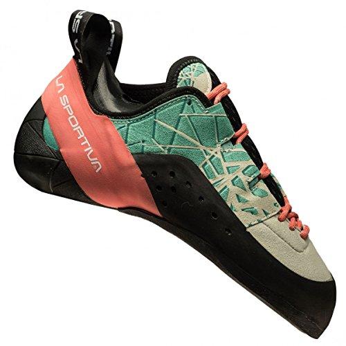 La Spartiate Mutant Chaussures De Course De Trail Femmes - Ss18 Kataki Femme Menthe / Corail Talla: 35