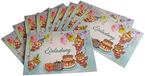 Tarjetas de invitación Niños Cumpleaños Diseño Globo de aire ...