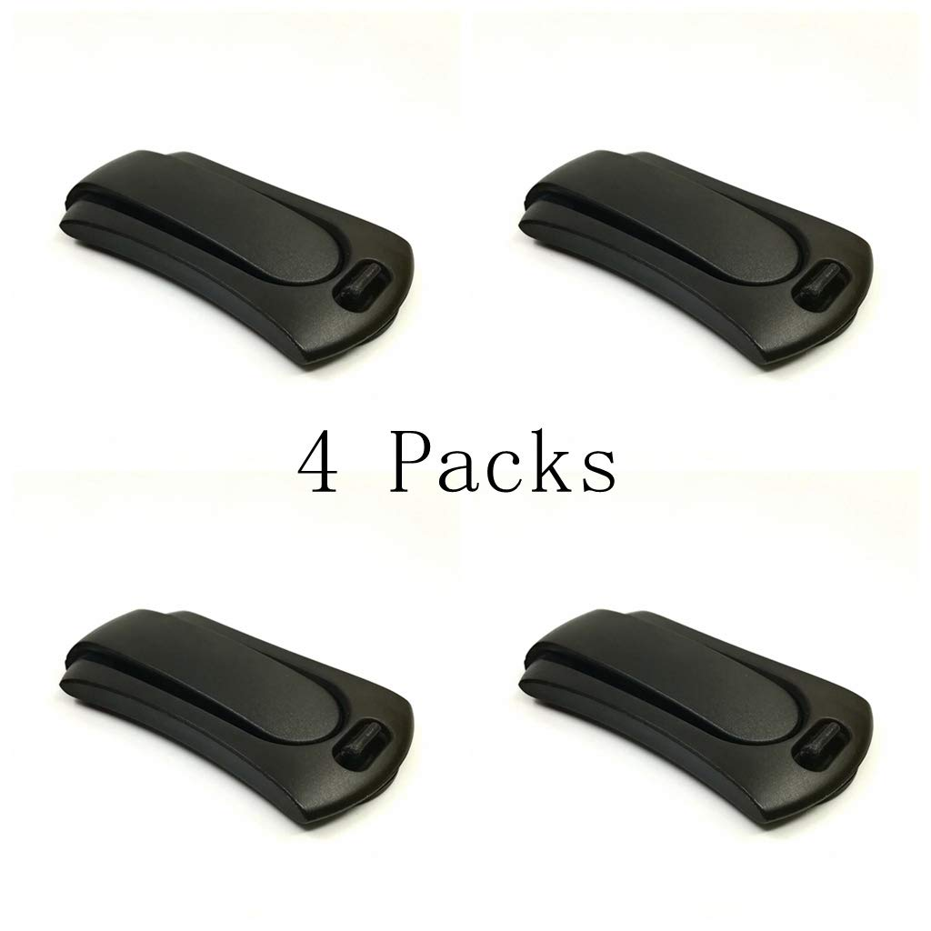 Car Seat Blet Adjuster and Seat Blet Clips for Removing Irritation The Neck (4pcs) (4pcs) by KCti