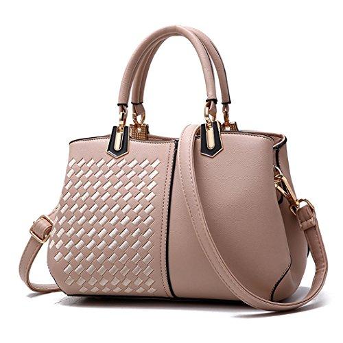 Womens Handbags Shoulder Bags Handbags Totes Handbags With Handles Gray Leather Teve