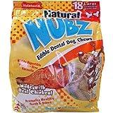 NUBZ Edible Natural Dental Dog Chews 2.2 Lbs, My Pet Supplies