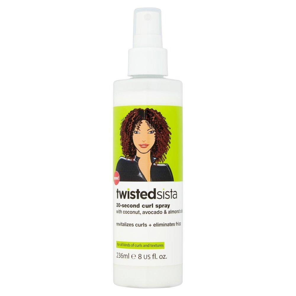 Twisted Sista 30 S Curl Hair Spray, 8 Oz