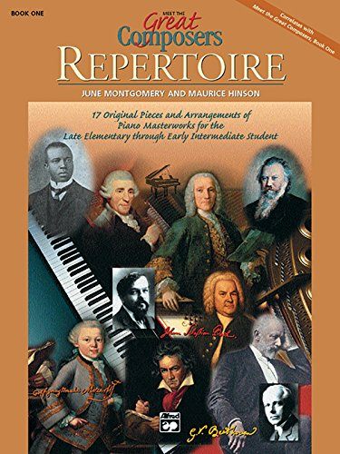 Meet The Great Composers Repertoire, Book 1