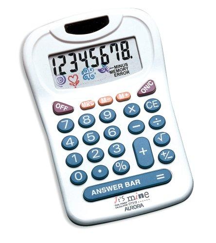 Aurora dt318Dual Power 8dígitos calculadora patentado