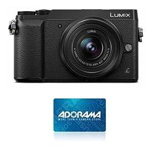 Panasonic Lumix DMC-GX85 Mirrorless Camera w/12-32mm Lens, Black w/$100 GC