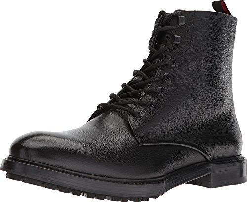 Hugo Boss Men's Defend Leather Mid-Calf Boots - Black (9.5)