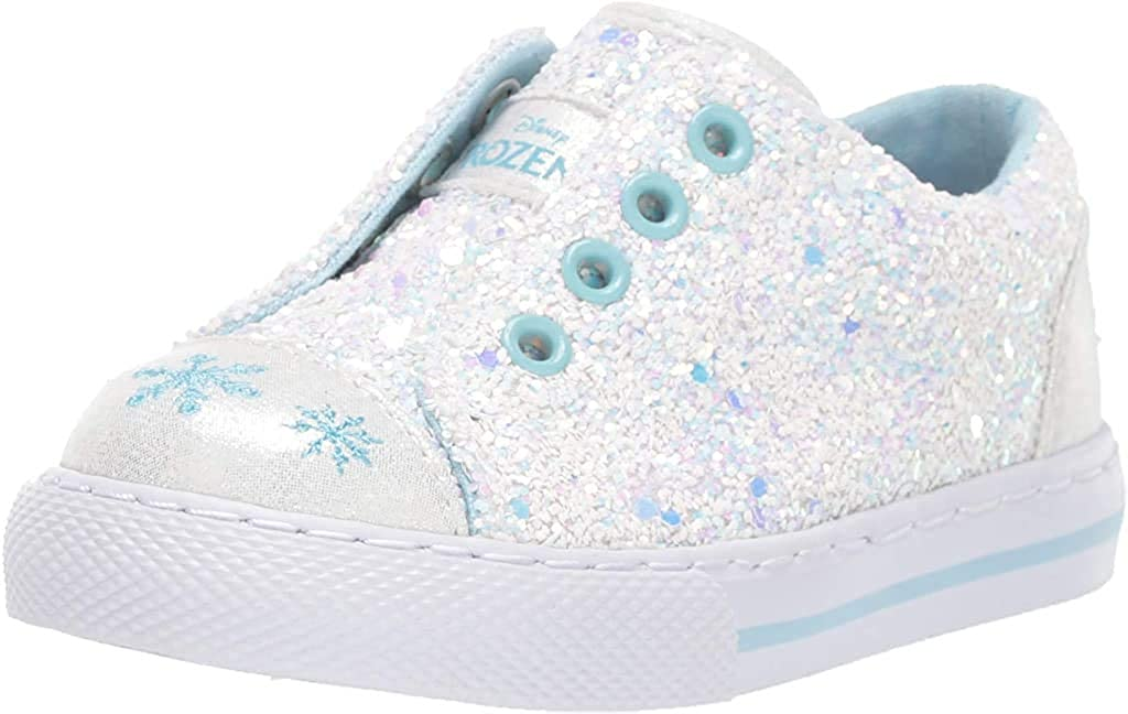 Brand - Spotted Zebra Kids' Frozen Slip-on Sneaker: Shoes
