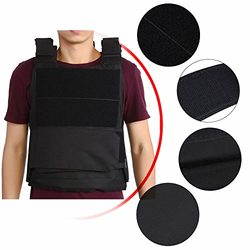 Tactical CS Field Vest Outdoor Tactical Vest Hunting Security Guard Waistcoat CS Field Combat Training Protective Vest for Adult Airsoft Games Boys Costumes