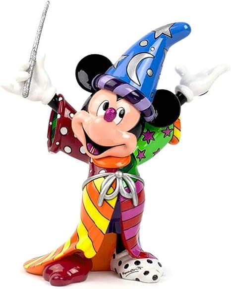 Imagen deDisney Britto Figurillas Decorativas con diseño Disney, Resina, Multicolor, 23 x 1.1 cm