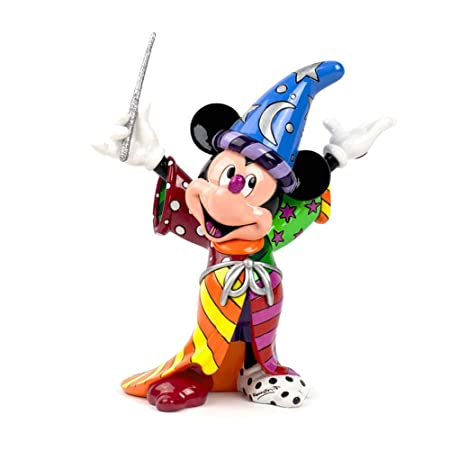 Disney Britto Sorcerer Mickey Figurine: Amazon.co.uk: Kitchen & Home