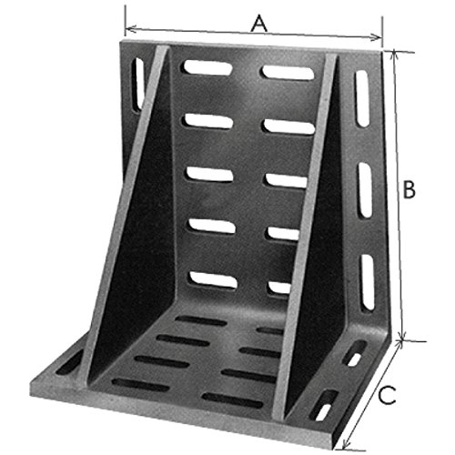 HHIP 3402-0340 16 x 12 x 9'' Giant Slotted Angle Plate by HHIP