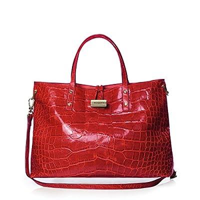 Eric Javits Luxury Fashion Designer Women's Handbag - Cheri - Red