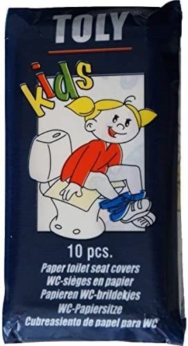 TOLY KIDS Cubreasiento para WC Biodegradable desechable (9 ...