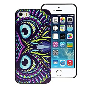 Aokdis New Hot Selling Fashional Individualized Hard Back Case for Iphone 5 5g 5s (Aztec Animal Owl)