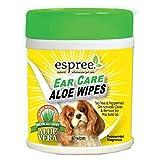 Espree Ear Care Aloe Wipes 60/Pack (20 Pack)