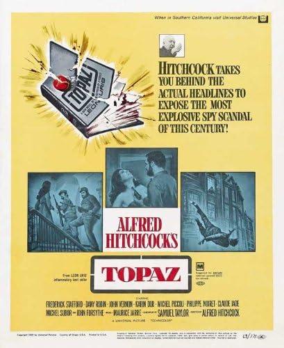 Amazon.com: Topaz POSTER Movie (27 x 40 Inches - 69cm x 102cm ...