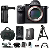 Sony Alpha a7SII Mirrorless Digital Camera with Vertical Grip and 39 Tripod Accessory Bundle (Body Only)