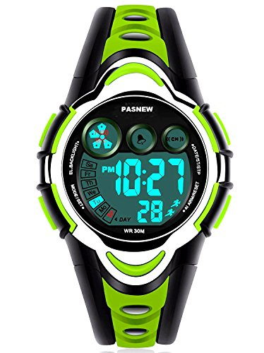 New Brand Mall Waterproof Boys/Girls/Kids/Childrens Digital Sports Watches for 5-12 Years Old price tips cheap