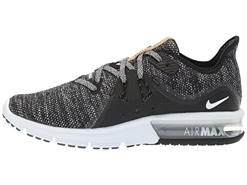 Black Air Shoes WMNS Black Max Sequent Running Dark 011 Women's White Grey Nike Competition 3 qTEwzqx1