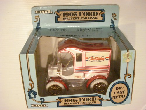 1905 Ford Delivery Car True Value Die Cast Replica Bank 1:25 scale