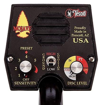 Amazon.com : Tesoro Mojave Metal Detector ~ ~Made in USA : Camera & Photo