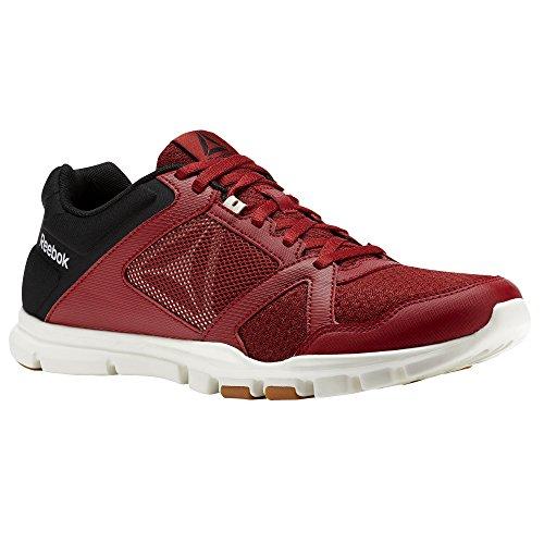 noir Reebok Sport Rouge nbsp;– 10 Homme Train gomme Cassã De Yourflex Foncã blanc nbsp;chaussures nbsp;mt 0n0OwBzx
